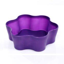 Вазон пл. Гардения Кактус 5,5 круг фиолетовый