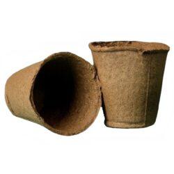 Горшок торфяной (6 см, H 6 см)
