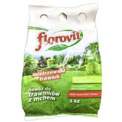 Удобренеи Флоровит для газона+Fe 1кг (меш.)