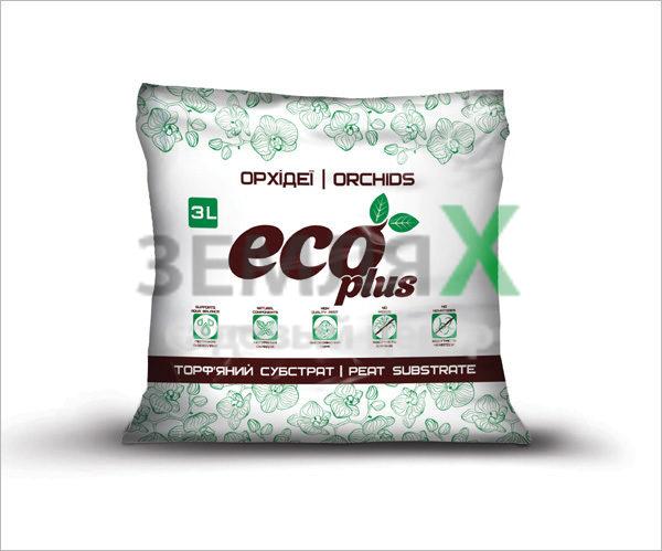 Грунт «Eco Plus», 3 л (для орхидей)