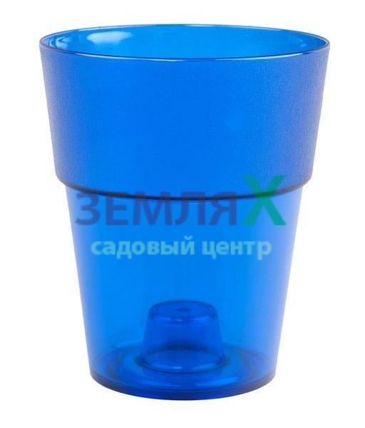 Кашпо «Коло» D-135мм (синий)