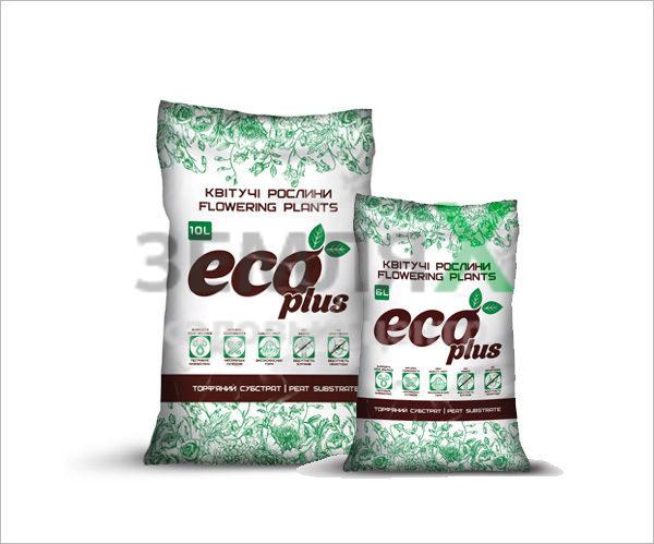 Грунт «Eco Plus», 6 л (для цветущих)